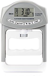 デジタル握力計 筋力 握力測定 記録更新機能付き ハンドグリップ 0〜90kg 19人登録 ハンドグリップメーター
