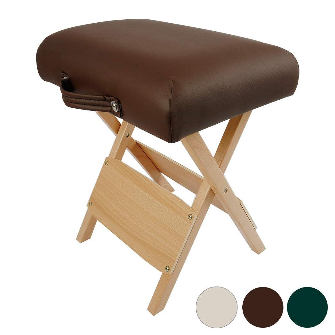 一生腫瘍貧困折りたたみ 木製スツール チョコレート [ 折りたたみ椅子 折りたたみチェア 折り畳み スツール イス 椅子 チェア 木製 ウッド 四角 ]