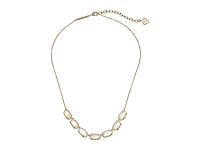 Kendra Scott Grayson Short Strand Necklace (Gold/Ivory Mother-of-Pearl) Necklace