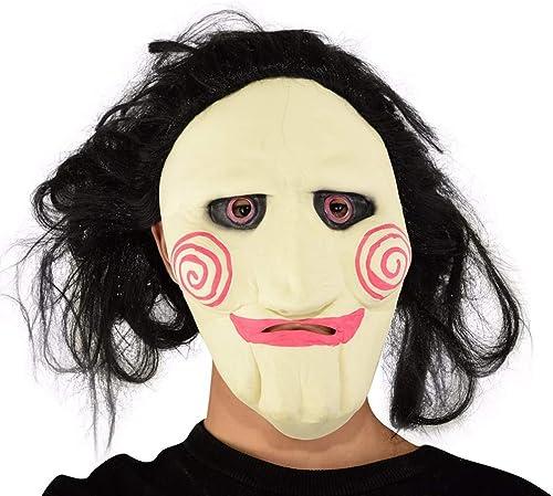 presentando toda la última moda de la calle Zorux – Máscara de Terror para Disfraz de de de película de Terror para Adultos, látex, para Fiestas  Mejor precio