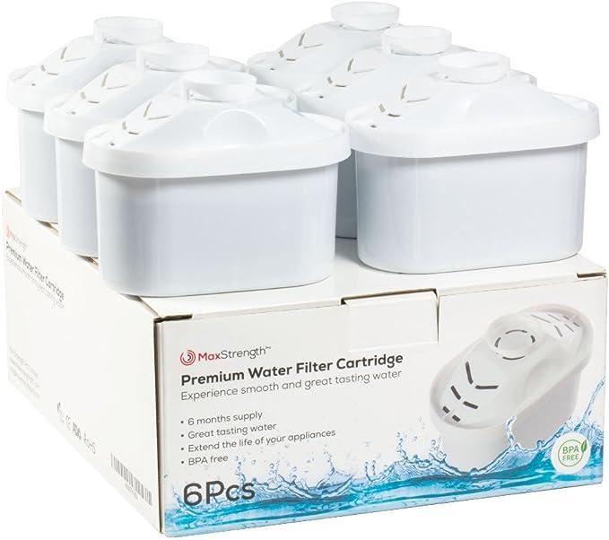 236 opinioni per Max Strength Pro 6pc Set di cartucce filtranti per caraffe Brita Maxtra & XL