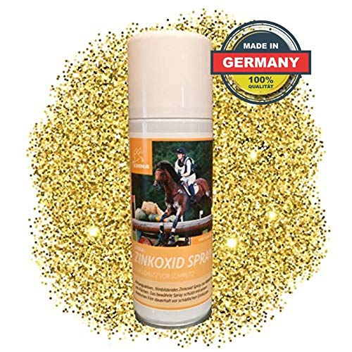 EMMA® Zink Spray voor Paard & Hond I Wondspray wondverband I Zilver Spray optimale wondverzorging I Ademend voor dieren 200ml