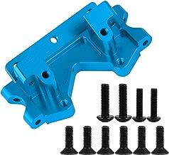 Aluminum Alloy Front Bulkhead Mount Plate Case for Traxxas Slash 2WD 1/10 Upgrade Parts 2530 2530A (Blue)