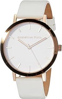 Christian Paul Women RWR4303 Year-Round Analog Quartz White Watch