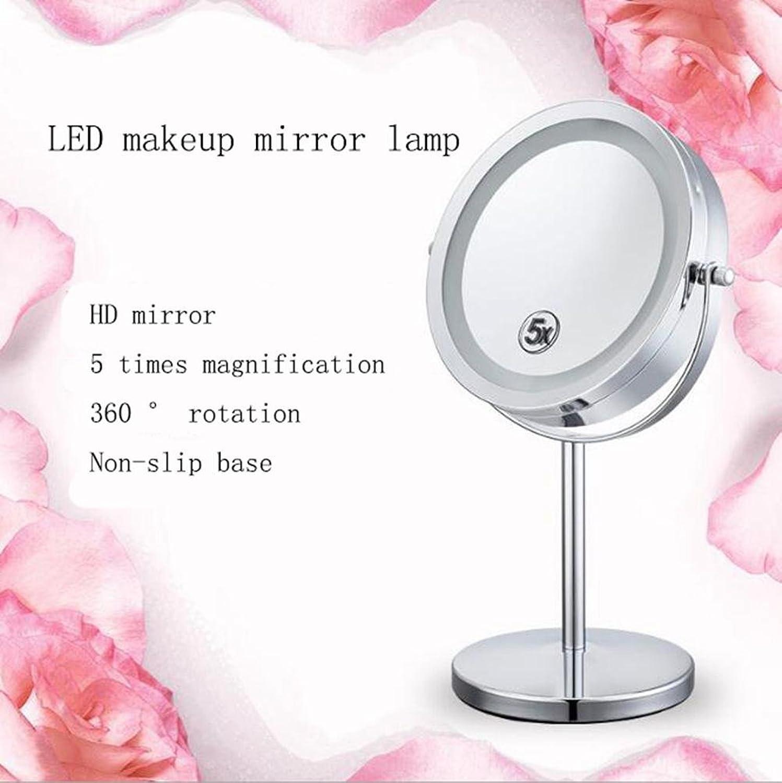 LED Kosmetikspiegel im europischen Stil mit Vergrerungsspiegel Vergrerungsspiegel für Vergrerungsspiegel 5-fach