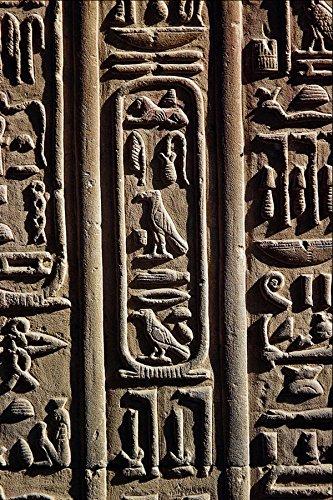 756031 Hieroglyphic Schrijven In De Tempel Van Kom Ombo Egypte A4 Photo Poster Print 10x8