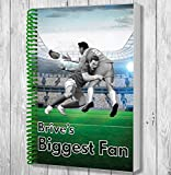 Brive's Biggest Fan A5 Rugby Notebook / Notepad / Drawing Pad