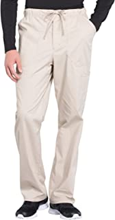 Workwear Professionals Men's Tapered Leg Drawstring Cargo Scrub Pant