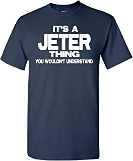 STUFF WITH ATTITUDE Jeter Thing Navy T Shirt