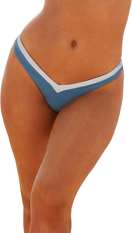 Swimsuits For All Women's Plus Size Camille Kostek Scuba Dream Thong Bikini Bottom