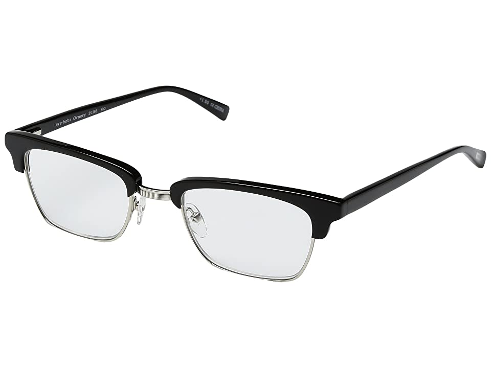 eyebobs Ornery (Black/Silver) Reading Glasses Sunglasses