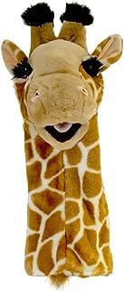 Long-Sleeved Glove Puppets: Giraffe