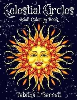 Celestial Circles: Sun, Moon, Stars and planets Mandala Coloring Book