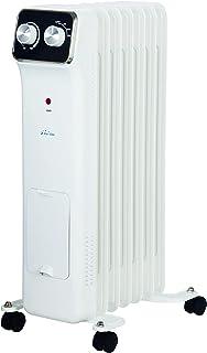 PURLINE HOTI OR1500 Radiador de aceite, 1500 W, 7 elementos, termostato, 3 niveles de potencia, regulador de potencia para un bajo consumo