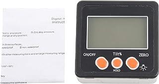 TOOGOO Digital Inclinometer 0-360 Angle Triangle ruler Electronic Protractor Aluminum Alloy Shell Box Angle Gauge Meter Ma...