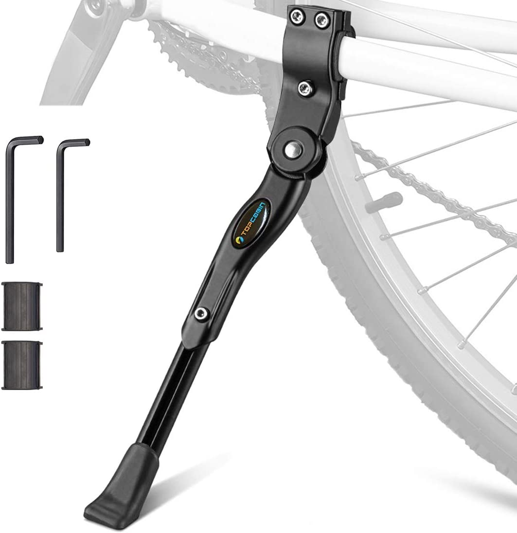 US Adjustable Bicycle Kickstand Mountain Bike MTB Aluminum Side Rear Kick Stand