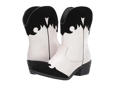 Dingo Go For It (White/Black) Cowboy Boots