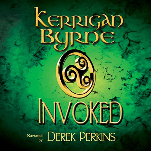 Invoked audiobook cover art