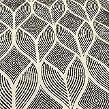 Kt KILOtela Tela de loneta Estampada Digital - Half Panamá 100% algodón -...