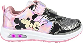 CERDÁ LIFE'S LITTLE MOMENTS Cerdá-Zapatilla con Luces Minnie Mouse de Color Rosa, Niñas