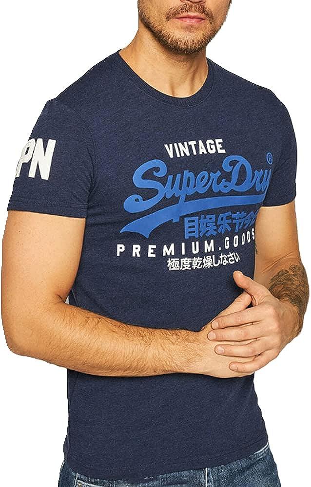 Superdry VL NS tee Camiseta para Hombre