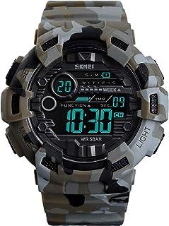Kids Waterproof Sport Watch, Boys Girls Digital Military...