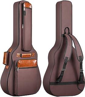 Funda de Guitarra Universal CAHAYA, Acolchada (8mm) para Guitarra Acústica y Clásica (Color Marrón)