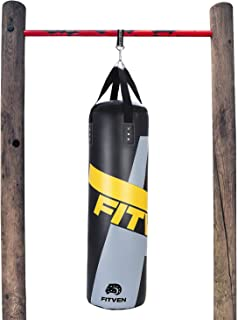 FITVEN Punching Bag for Adults Kids, Indoor/Garden Boxing Bag, Heavy Bag for MMA, Kickboxing, and...