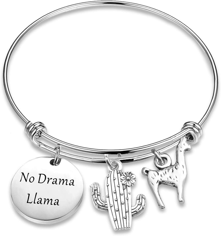 TGBJE Llama Gorgeous Jewelry Free shipping No Drama Bracelet Theater Acto