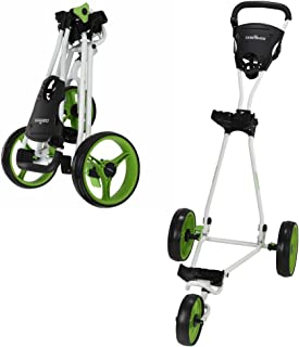 Caddymatic Golf Continental 3 Wheel Folding Golf push / green pull / green pull