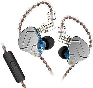 KZ ZSN Pro Auriculares de Metal Tecnología híbrida 1BA + 1DD HiFi Auriculares para Bajos En el oído Auriculares Monitor Au...