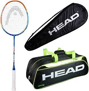 HEAD Head Airflow 3000 Badminton Racquet Set with Inferno 70 Green kitbag