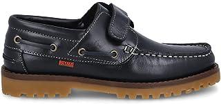 PAYMA - Zapatos Náuticos Sport Casual Hombre, Mujer, Niño. Clásicos 3-Ojales de Piel. Piso de Goma. Tallas Grandes 45 46 4...