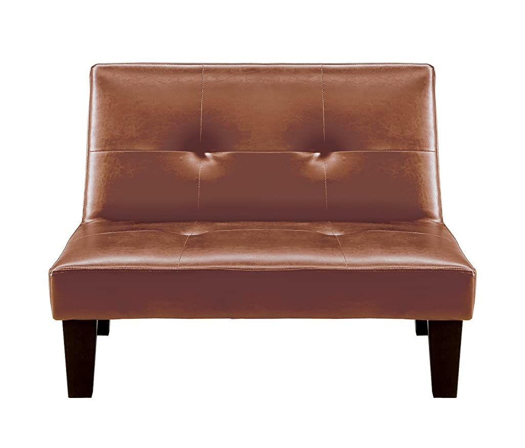 声を出してハリケーン規範大川家具 関家具 シングルソファベッド(幅92㎝ 素材/合皮) ブラウン色 226267