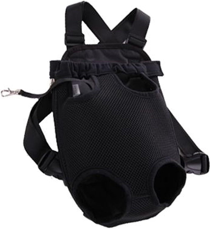 Outdoor Dog Carrier Pet Carriers Pet Bag Backpack Cat Travel Bag, Black