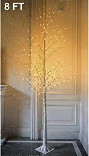 Twinkle Star Lighted Birch Tree 8 Feet 240 LED for Home Wedding Festival Party Christmas Decoration