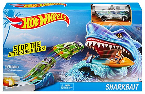 Hot Wheels Sharkbait Play Set