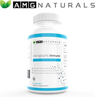 Andrographis Capsules - Andrographis Paniculata Capsules to Support Optimal Immune Immunity & Microbial Defense - High Potency 500mg per Capsule 60 Capsules