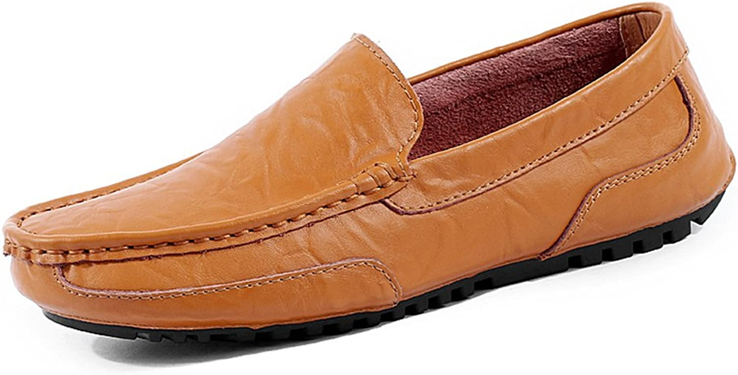JACKSHIBO Men's Casual Loafers Moccasins Lazy shoes Oxford Slip on Driving shoes