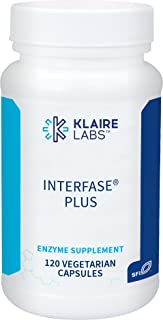 Klaire Labs Interfase Plus - Multi-Enzyme Blend, Hypoallergenic & Dairy-Free (120 Capsules)