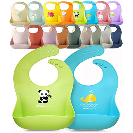 Silicone  bib \u2022Washable Baby bib \u2022 Blue Toddler Bib \u2022 Baby drool bib \u2022 Mealtime Baby gift bib \u2022 Infant Teething Bib \u2022 Baby waterproof bib