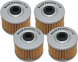 Road Passion Ölfilter für XL350R 84 87 XR350R 83 87 XR400R 2004 XR440 R/SM 96 04 XBR500 85 88(4 Stück)