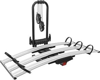 OMAC Auto Accessories Suporte dobrável para bicicletas com engate   3 suportes para bicicletas ajustáveis adequado para bi...