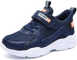 [麗人島株式會] カジュアル子供靴女の子のための靴男の子スニーカー子供靴下靴通気性メッシュスリップオンランニングスポーツシューズ
