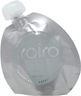 IROIRO Premium Natural Semi-Permanent Hair Color 130 Silver (4oz)