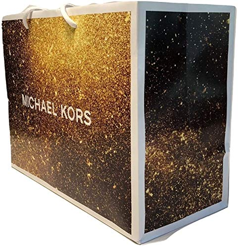 "Michael Kors Small Shopping Gift Bag Special Edition Perfect for gift giving, shopping, or traveling Great way to store your handbags while not in use Approximate Dimension 10"" x 8"" x 4"""