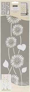 DecoArt DECADS-K.304 Decor Stencil 6x18 Sunflower Americana Decor Stencil 6x18 Sunflowers