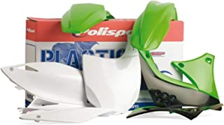 Polisport Plastics Kit Green for Kawasaki KX125 KX250 99-02