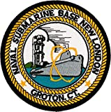 Naval Submarine Base Groton, CT Patch Full Color