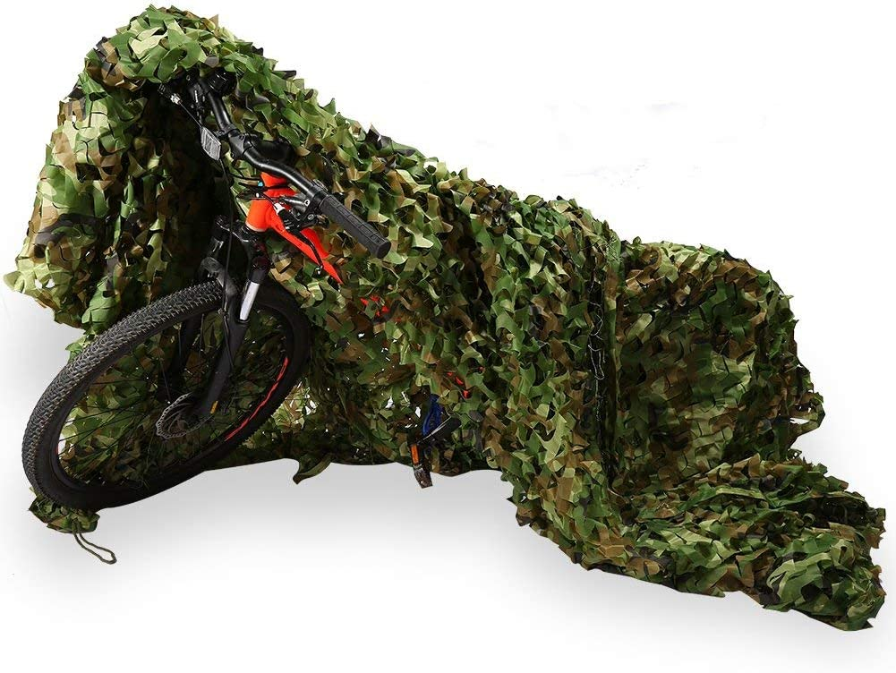 Camo Netting Max 50% OFF with Mesh Backing Camouflage Camoufla Woodland Limited time cheap sale Net